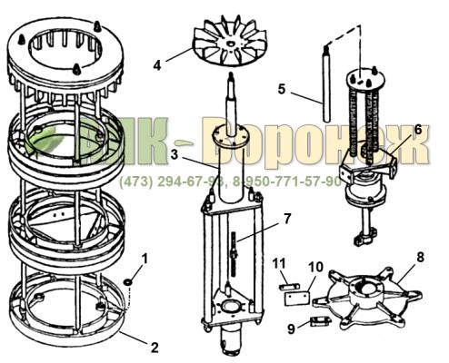 Ротор БЦСМ-100.02.090