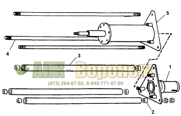 Остов ротора А1-БЦС-100.02.100