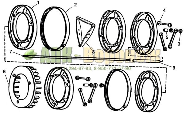 Барабан А1-БЦС-100.02.130